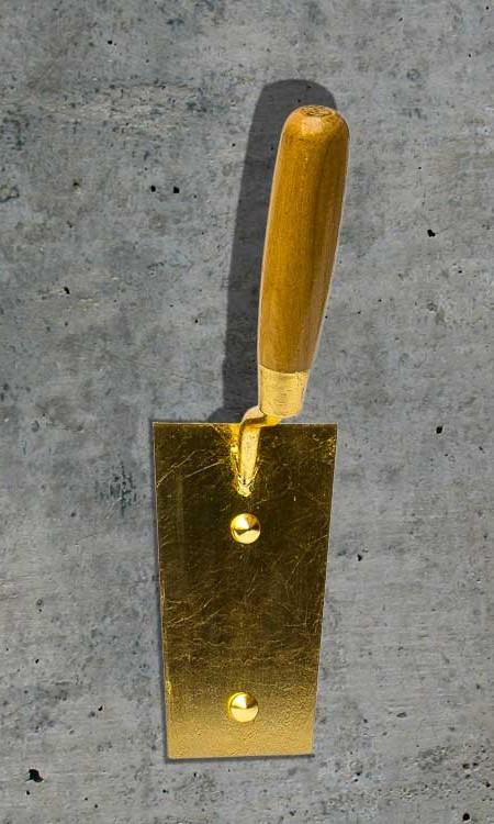 Kleiderhaken gold