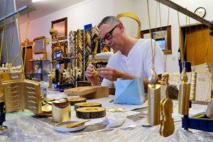 Schauraum und Vergolderwerkstatt von Goldlieb in Wien